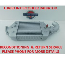 INTERCOOLER RECON & RETURN SERVICE