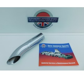 MAZDA BONGO 1995-2002 REAR CHROME END PIPE FITS ALL + FREE SERVICE BOOKLET